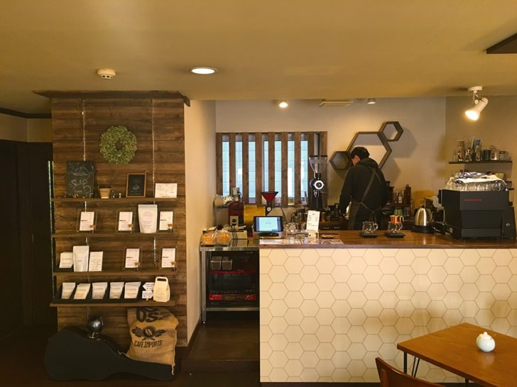 CLAXON Coffee Roasters 札幌カフェ 福住