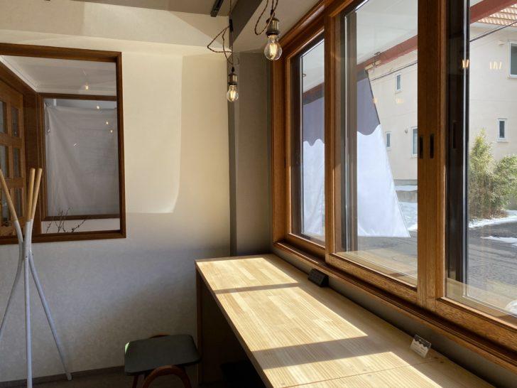 喫茶とギャラリーなみなみ 札幌カフェ 菊水 豊平
