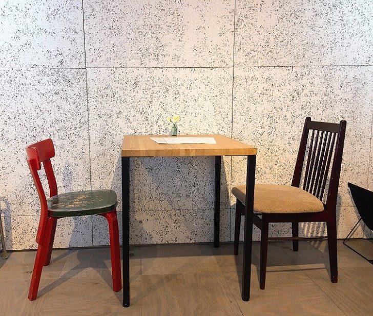 喫茶とギャラリーなみなみ 札幌カフェ 白石 菊水